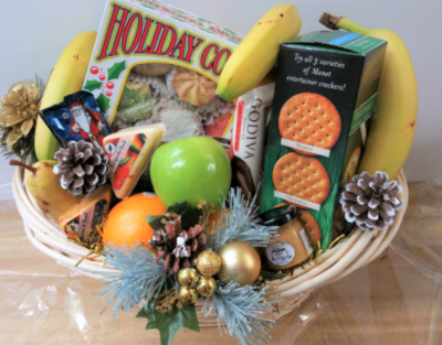 75 gift basket for Christmas
