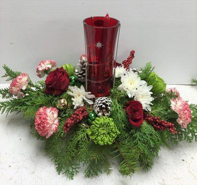 Red Christmas Hurricane