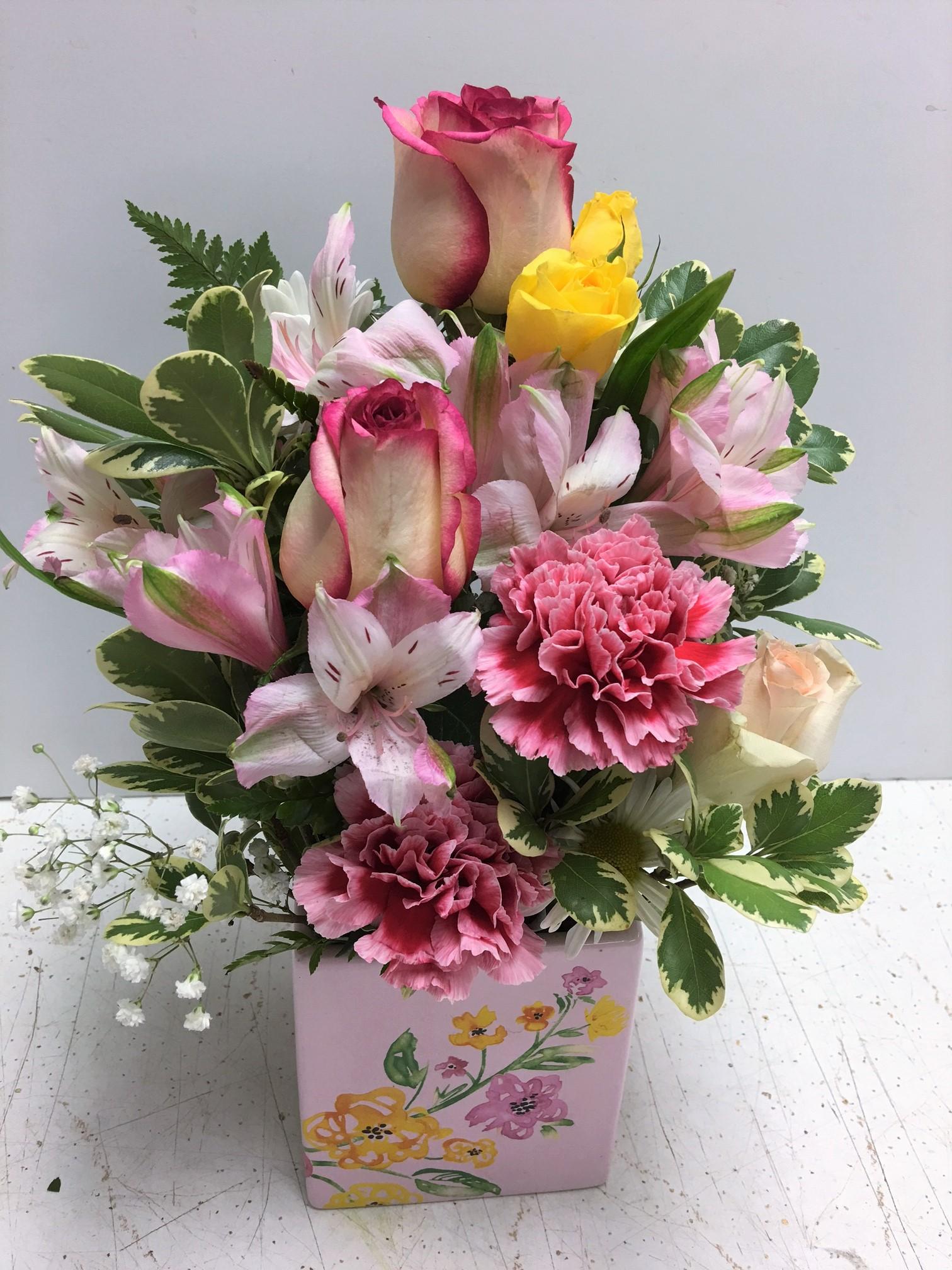 Penelopes Pink 35 5999 Baby Flowers Birthday Short Sassy