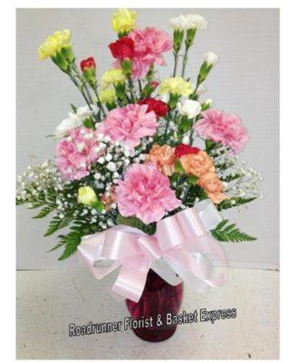 carnations for cheryl