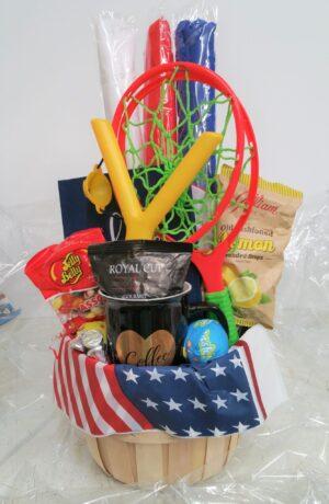 Patriotic basket