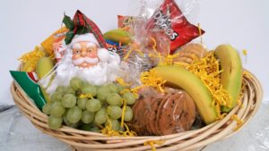 Grab and Go GIft Basket for Christmas