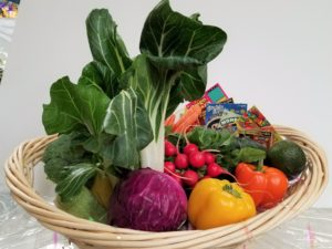 Win Win Veggies Gift Basket