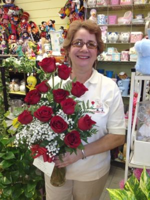 Tina's Roses in shop