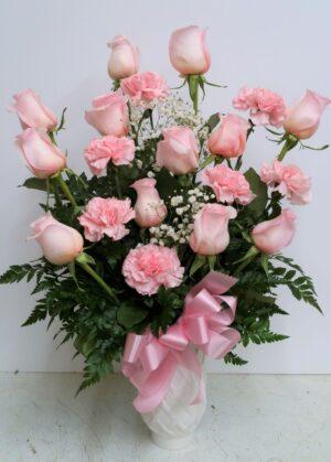 Upside Down Pink Roses