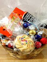 Chocolate Cookie Candy Basket