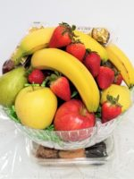 Pedestal fruit basket