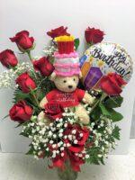 Birthday fun flowers