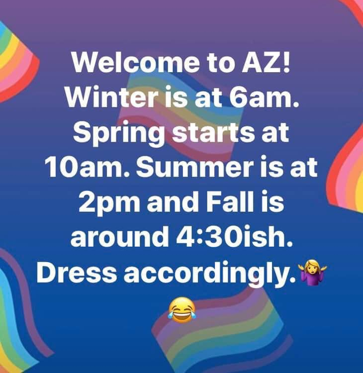 Welcome to Arizona